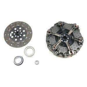 KIT COMPLET Mécanisme double, disque AV. Organique, 2 butées et roulement pilote - Renault Claas - Ø280/280 - 12/13 Cannelures